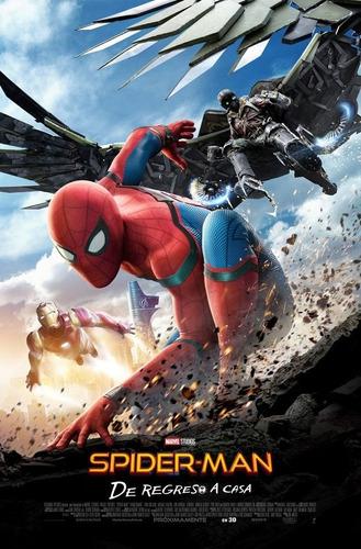 Imagen 1 de 2 de Poster Original Cine Spider-man De Regreso A Casa ( Motivo 2