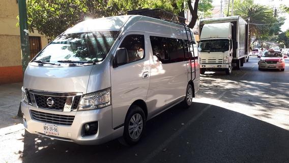 Nissan Urvan 2.5 12 Pas Aa Pack Seguridad Mt 2015