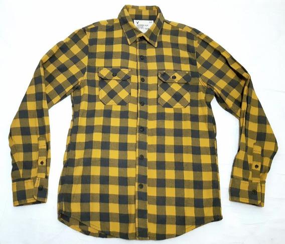Camisa American Eagle Outfitters Flannel Original Seminueva