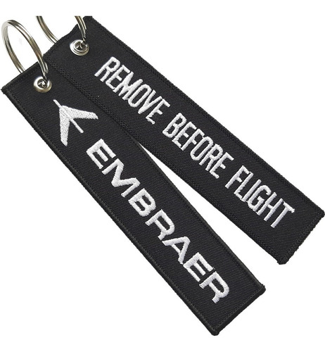 Llavero  Remove Before Flight ® Embraer