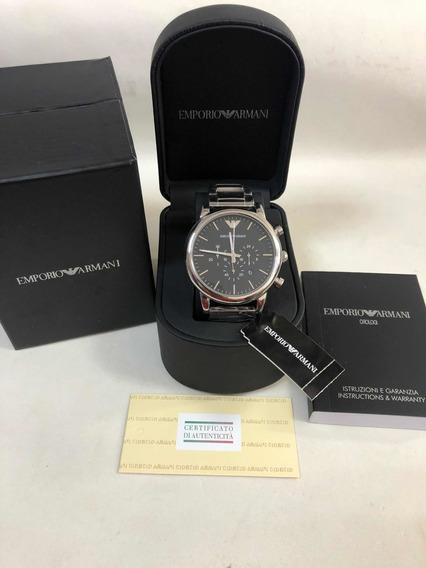Relógio Emporio Armani Ar1808 Com Caixa E Garantia