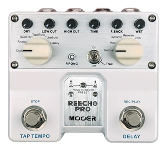 Pedal Mooer Twin Reecho Pro Digital Delay - Tdl1