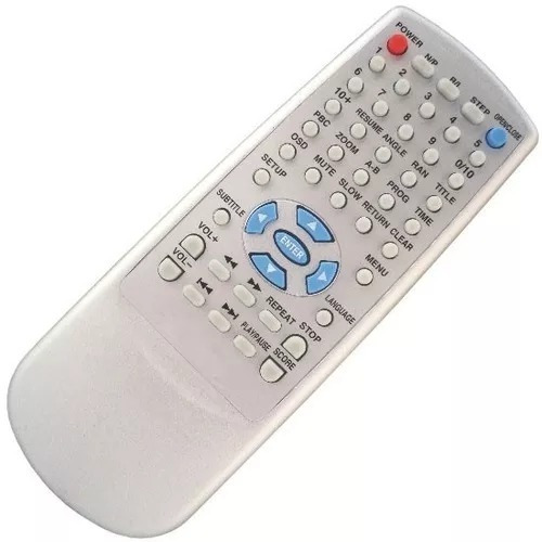Controle Remoto Dvd Precision Pvd-502p/pvd-5039