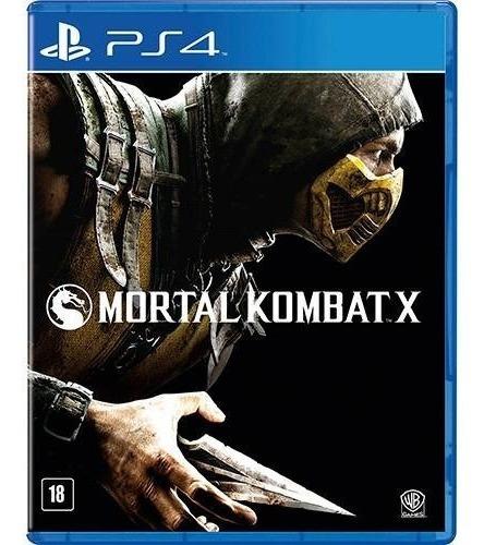 Jogo Mortal Kombat X Playstation 4 Português Midia Fisica