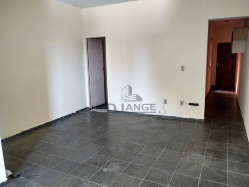 Imagem 1 de 14 de Kitnet Para Alugar, 38 M² Por R$ 450,00/mês - Botafogo - Campinas/sp - Kn0610