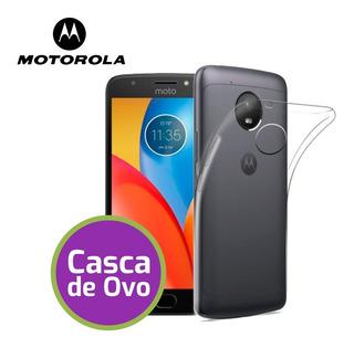 Capinha Case Smartphone Moto G4 Plus Ultra Fina Casca De Ovo