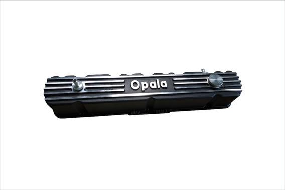 Tampa De Válvula Do Motor Opala 6cc Em Alumínio Para Opala
