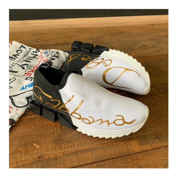Tenis Dolce Gabbana Lançamento Entrega Imediata + Sacola D&g