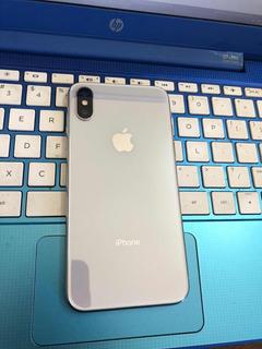 iPhone X Silver 64gb Como Nuevo