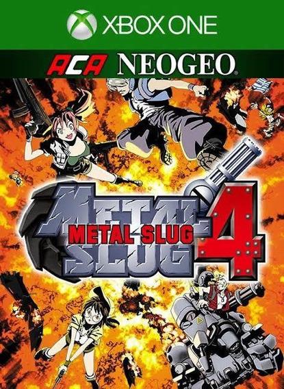 Aca Metal Slug 4 Xbox One ( 25 Dígitos ) Jogo Buy Envio Já