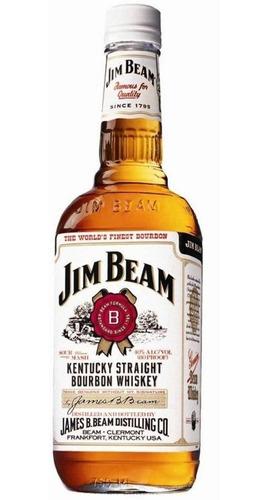 Whisky Bourbon Jim Beam White 1000ml