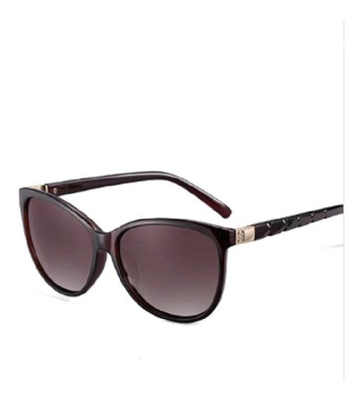 Lentes Mujer Polarizado Gafas Sol Moda 20/20 Original Dorado