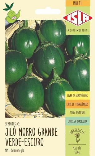 Imagem 1 de 1 de Sementes De Jiló Morro Grande