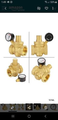 Valvula Reguladora Precion Agua