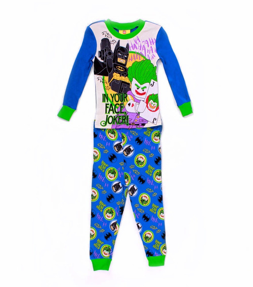 Pijama Lego Para Niño Batman In Your Face Joker
