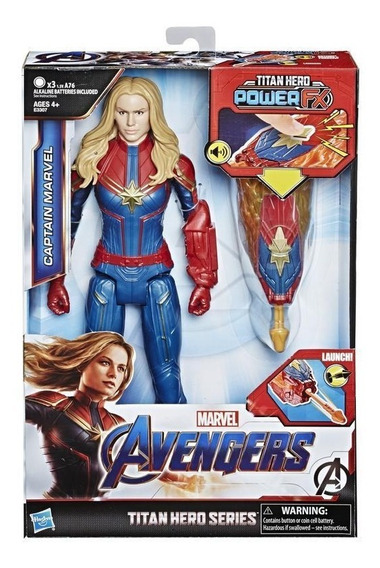 Marvel E3307 Avengers: Endgame - Titan Hero Power Fx Captain