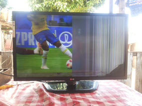 Tv Lg32 Led Display Trincado