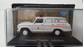 Miniatura Chevrolet Veraneio Ambulância Escala 1:43 Nova