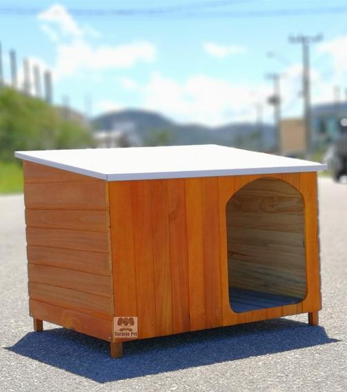 Casa Casinha Cães Cachorro Grande Criadeira Teto Galvanizado