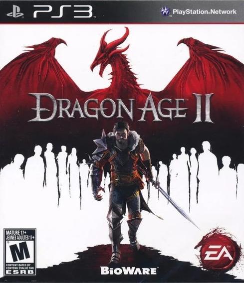 Jogo Dragon Age 2 Ii Playstation 3 Ps3 Míd Física Lacrado
