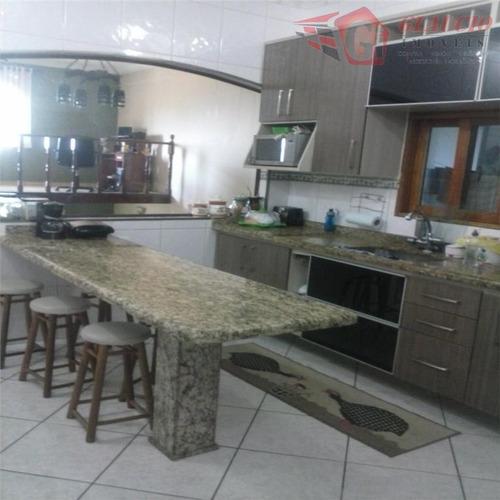 Sobrado Para Venda Em Taboão Da Serra, Parque Monte Alegre, 3 Dormitórios, 1 Suíte, 3 Banheiros, 5 Vagas - So0343_1-1010128