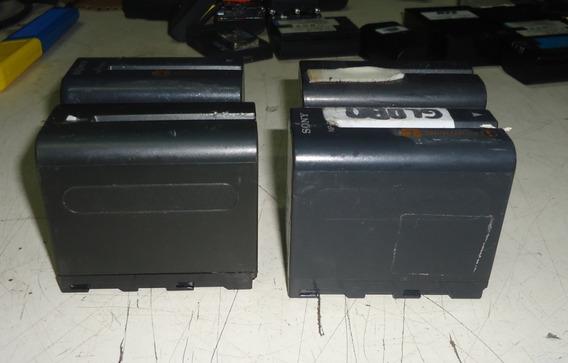 Lote 4 Baterias Watson Maxicom Hd-f970 Sony Np-f970 No Estad