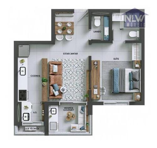 Imagem 1 de 20 de Apartamento À Venda, 55 M² Por R$ 439.900,00 - Jardim Portal Da Colina - Sorocaba/sp - Ap4128