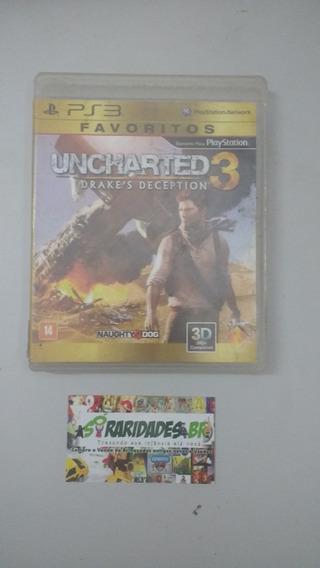 Jogo - Uncharted 3 - Playstation 3