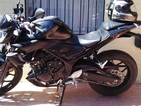 Yamaha Mt 03, 2018, 8877 Km, Negra, Impecable Estado, Oferta
