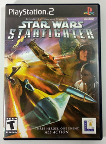 Star Wars Starfighter Original - Playstation 2 Ps2