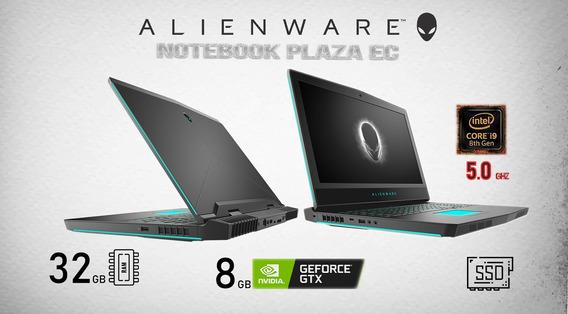 Alienware 17 I9 4.9hz 32gb Nvidia 1080gtx 8gb 512gb Ssd 1tb