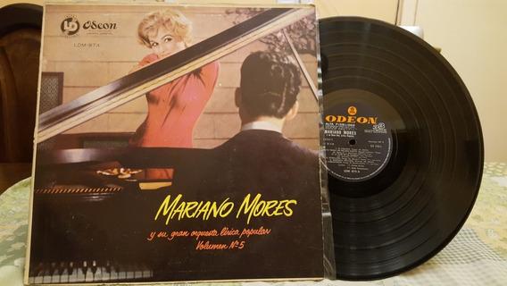 Mariano Mores Volumen 5 Lp Disco Vinilo Ex