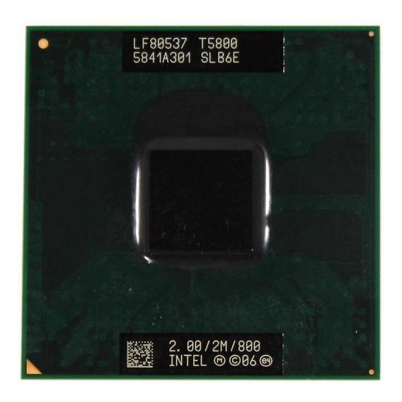 Processador Notebook Intel Core 2 Duo T5800 2.00ghz (11275)