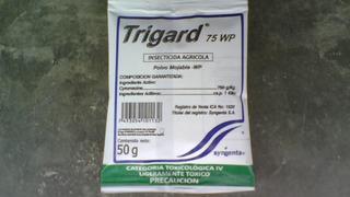Insecticida Trigard Agrícola,padan 50sp,ridomil,antracol