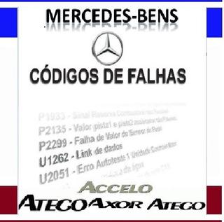 Manual Tecnico Codigos De Falha Diagnostic Caminhão Mercedes
