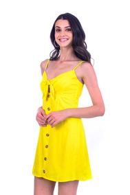 Vestido De Lino V04-19