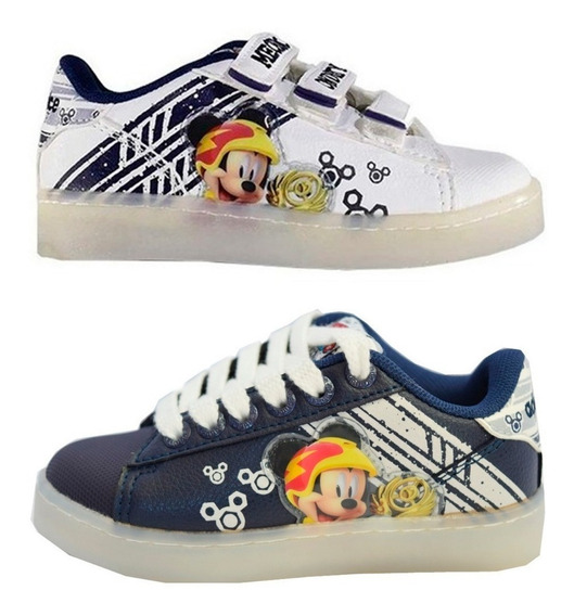 Zapatillas Mickey Addnice Racers Sin Luz Mmk Mkled