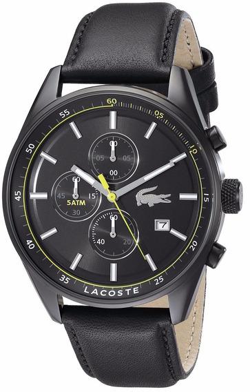 Reloj Lacoste Dublin Negro Acero Cronógrafo Hombre 2010785