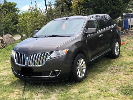 Lincoln Mkx V6 Awd Premier Piel