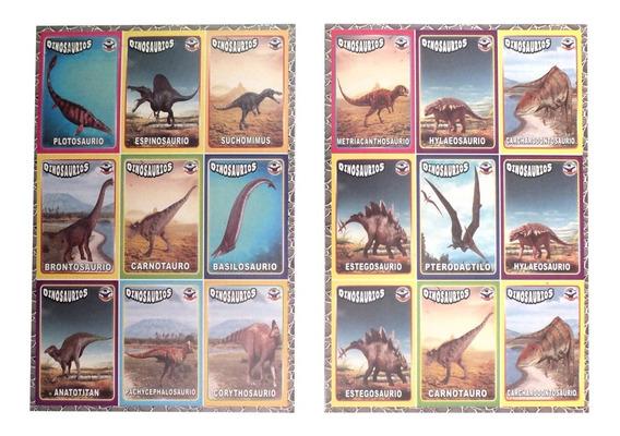 Lotería Didáctica Educativa Dinosaurios Primaria