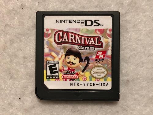 Juego Carnival Games Para Nintendo Ds - Cartucho Original