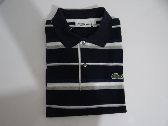 Camisa Polo Lacoste Regular Fit (nr5)