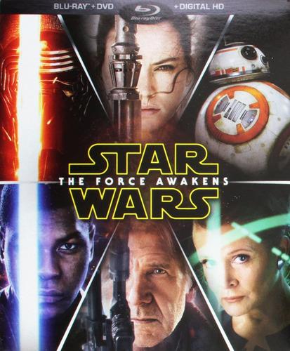Pelicula Star Wars The Force Awakens Bluray/dvd/hd Target