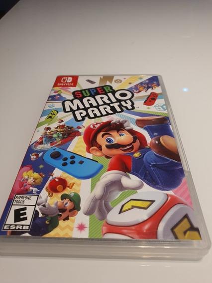 Jogo Super Mario Party (mídia Física) Para Nintendo Switch