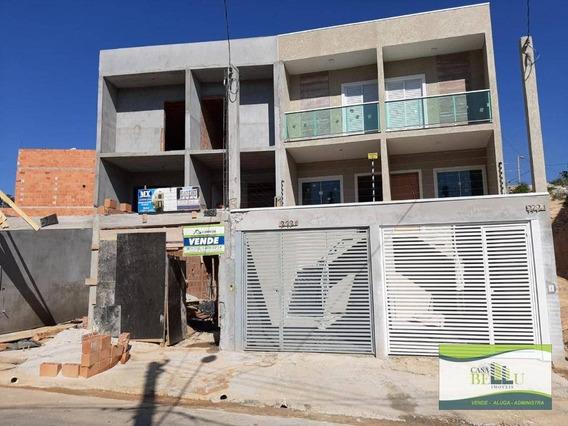 Casa Com 2 Dormitórios À Venda, 100 M² Por R$ 250.000,00 - Jardim Santo Antonio - Franco Da Rocha/sp - Ca0572