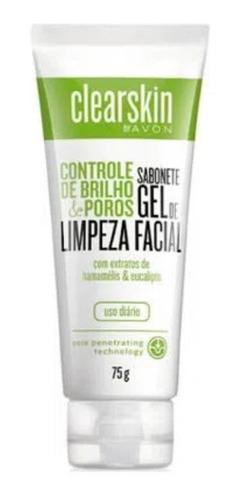 Sabonete Gel De Limpeza Facial Clearskin 75g - Avon