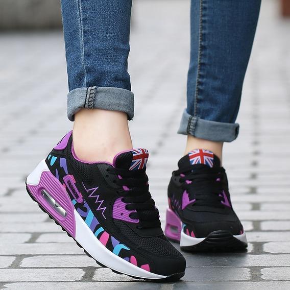 Zapatillas Mujer Importadas Camara De Aire