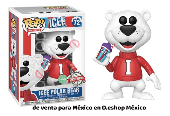 Funko Pop Icee Polar Bear Ad Icon Aroma Uva Special Original