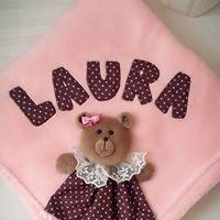 Cobertor Manta Personalizado Bebê De Microfibra 3d