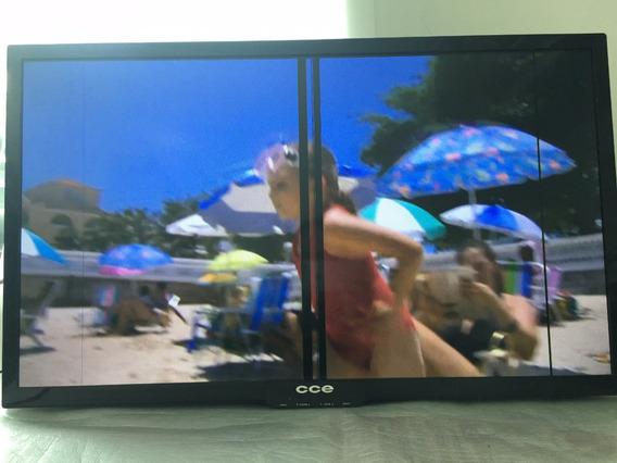 Tv Led 32 Cce Ln32g Hdmi, Tv Digital C/ Risco Cftv Dvr